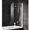 Pare-baignoire 80 x 140 cm, Schulte,Gamme Liane