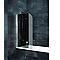 Pare baignoire anthracite 80 x 140 cm
