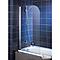 Pare-baignoire Capri 80 cm + anticalcaire