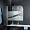 Pare-baignoire 125 x 140 cm, Schulte, Liane