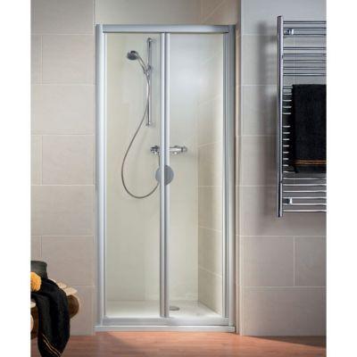 Porte de douche pliante phoenix 70 cm blanc castorama Porte de douche pliante 100
