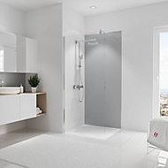 Panneau mural salle de bains 90 x 210 cm, Schulte DécoDesign Couleur, gris argenté