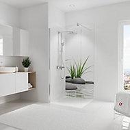 Panneau mural salle de bains 90 x 210 cm, Schulte DécoDesign Photo, pierres zen et herbes en niche