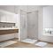 Lot de 2 panneaux muraux salle de bains Schulte DécoDesign décor pierre gris clair 100 x 207 mm