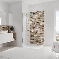 Panneau mural salle de bains 100 x 210 cm, Schulte DécoDesign Décor, parement clair