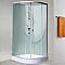 Cabine de douche arrondie 90 x 204 cm Ibiza