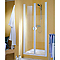 Porte de douche battante Sunny Quattro 70 cm