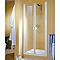 Porte de douche battante Sunny Quattro 90 cm