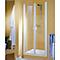 Porte de douche battante SunnyQuattro 90+anti-calcaire