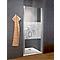 Porte de douche pivotante décor Softcube 80 cm NewStyle