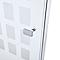 Porte de douche pivotante Cubic 80 cm NewStyle
