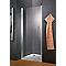 Porte de douche pivotante transparente 80 cm NewStyle