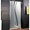 Porte de douche pivotante décor liane 80 cm NewStyle