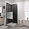 Porte de douche pivotante décor Softcube 90 cm NewStyle