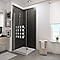 Porte de douche pivotante Cubic 90 cm NewStyle