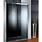 Porte de douche anthracite coulis. droite 160 cm Manhattan