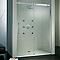 Porte de douche coulissante Urban 120 cm