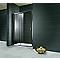 Porte de douche coulissante transparente 160 cm Impériale