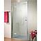 Porte de douche pivotante ouv. droite 100 cm MasterClass II