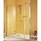 Porte pivotante ouv. gche 140 cm+anticalcaire MasterClass II
