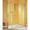 Porte pivotante ouv. dte 140 cm+anticalcaire MasterClass II