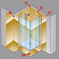 Profilé d'angle intérieur pour panneaux muraux Schulte DécoColor