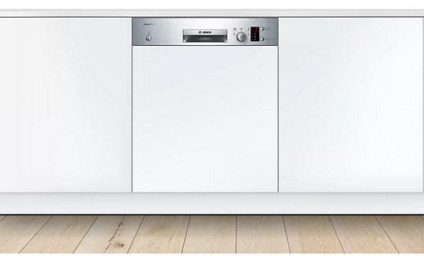Lave Vaisselle 60 Cm Silenceplus Integrable Tout Inox Bosch Smi25as00e Castorama
