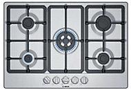 Plaque de cuisson au gaz Bosch PGQ7B5B90, 5 foyers