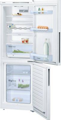 Réfrigérateur congélateur à poser Bosch KGV33VWAS 192L / 94L blanc