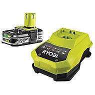 Chargeur + batterie lithium-Ion 2,5Ah - 18V Ryobi ONE+