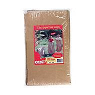 5 sacs poubelle en papier Ocai 100L