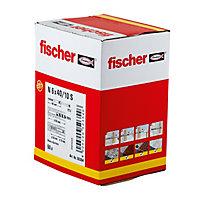 50 chevilles à frapper Fischer Ø6x40mm