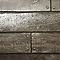 Papier peint papier sur papier LUTECE Planche bois marron métal
