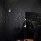 Papier peint vinyle expansé sur intissé Superfresco Checker noir