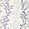 Papier peint vinyle grainé sur papier Fleu d'aspen violet
