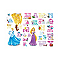 Sticker Alphabet Princesse