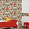 Papier peint papier sur papier GRAHAM & BROWN Duplex Mickey vintage
