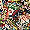 Papier peint papier sur papier GRAHAM & BROWN Duplex Marvel comics