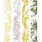 Papier peint vinyle sur intissé SUPERFRESCO Palmier rayure jaune/vert