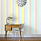 Papier peint vinyle expansé sur intissé SUPERFRESCO Pastel rayure jaune