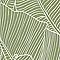 Papier peint vinyle sur intissé Bananier vert