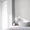 Papier peint vinyle lourd Superfresco Solitude uni blanc
