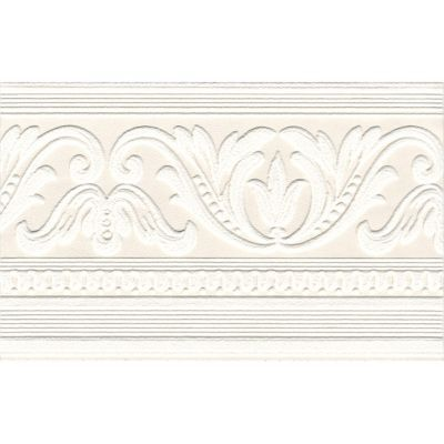 Frise superfresco arabesque blanc castorama - Frise papier peint chantemur ...