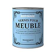 Vernis pour meubles Rust-Oleum transparent mat 125ml