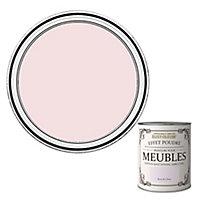 Peinture pour meubles Rust-Oleum rose de Chine effet poudré mat intense 125ml