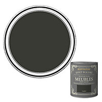Peinture pour meubles Rust-Oleum graphite effet poudré satin 0,75L