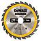 Lame scie circulaire construction TCT 190 x30 24T DEWALT