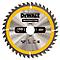 Lame scie circulaire construction TCT 190 x30 40T DEWALT