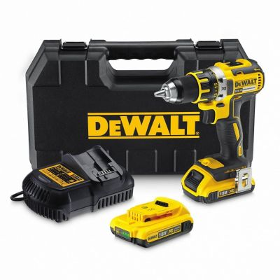 Perceuse visseuse sans fil brushless Dewalt DCD790D2 18V-2x2Ah