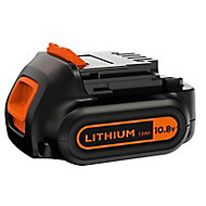 Batterie lithium-Ion Black & Decker 10.8V - 1.5Ah